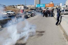 نقابة الصحفيين تدين مهاجمة الاحتلال للمسيرة الدولية