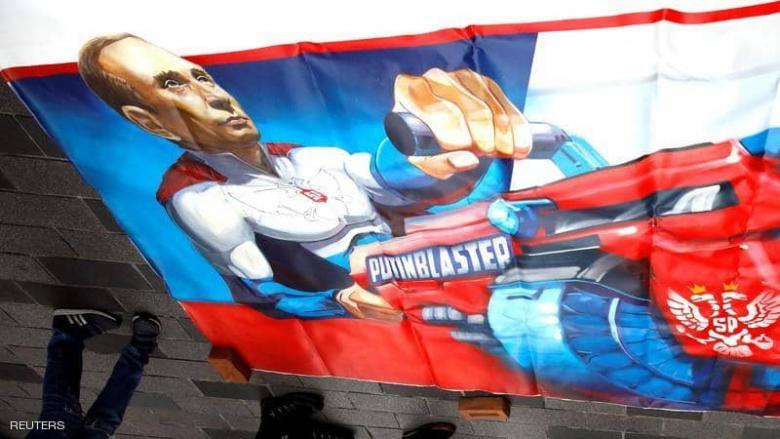"""""""بوتن الخارق"""" يغزو شوارع إسطنبول.. والبلدية تتدخل فورا"""