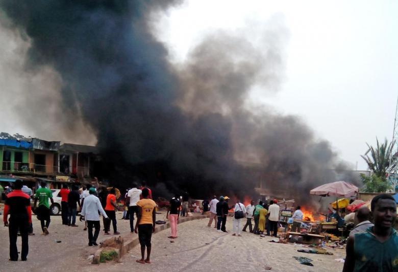 19 قتيلا في هجوم انتحاري شمال شرق نيجيريا
