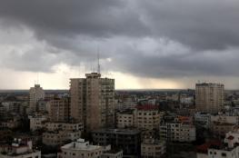 منخفض جوي شديد يضرب غزة