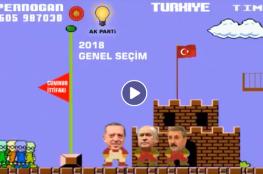 """شاهد إبداع الأتراك في """"ماريو أردوغان"""""""