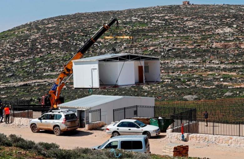 خطة إسرائيلية لتوسيع مستوطنة على حساب قرية فلسطينية