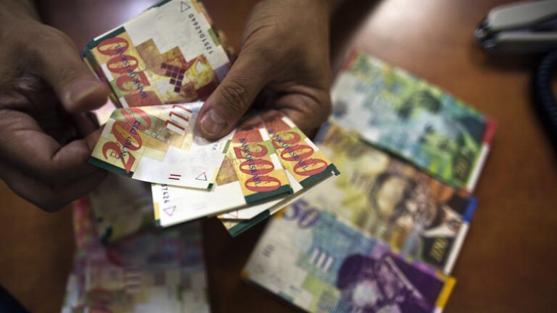 البنك المركزي الإسرائيلي يتوقع انكماش الاقتصاد في 2020