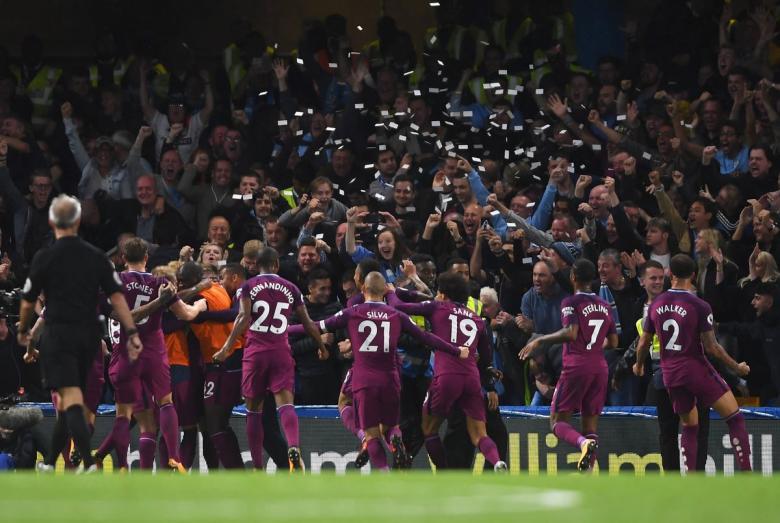 مانشستر سيتي بطلاً للبريمرليج بعد هزيمة اليونايتد