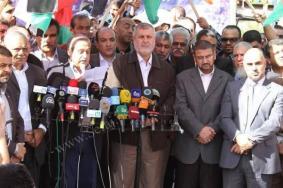 بحضور فتح.. الفصائل بغزة تدعو عباس لعقد اجتماع قيادي