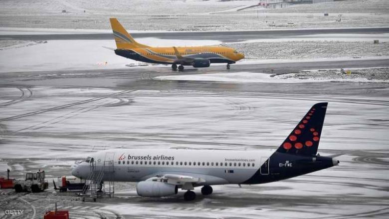 الثلوج تشل الحياة في مدن أوروبية