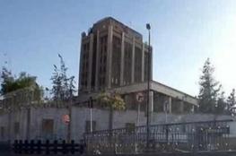السفارة الروسية في دمشق تتعرض للقصف مرتين