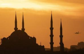 لقطات ساحرة للغروب في مدينة إسطنبول
