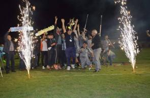 نادي الجزيرة بطلاً للدوري الفلسطيني للمبتورين بغزة