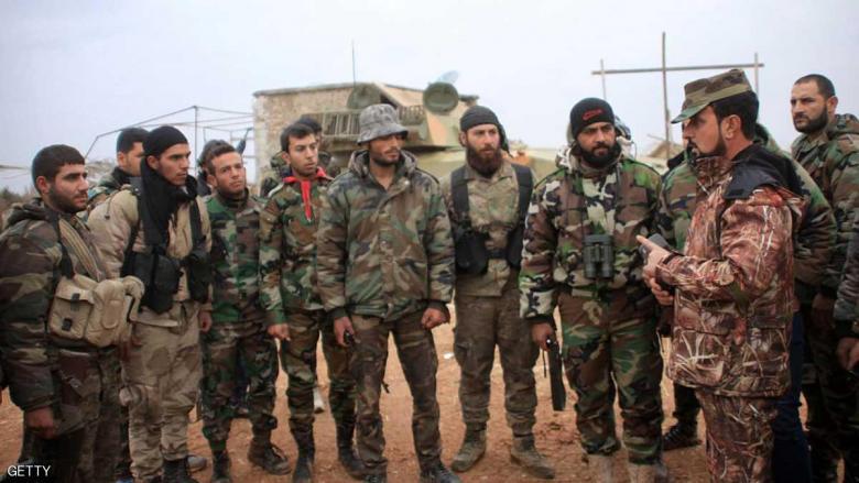 مقتل 25 داعشيا بعملية إنزال جوي للقوات السورية