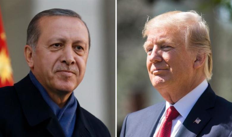 """ترمب يتعهد لأردوغان بالتعاون بمحاربة """"الكردستاني"""""""