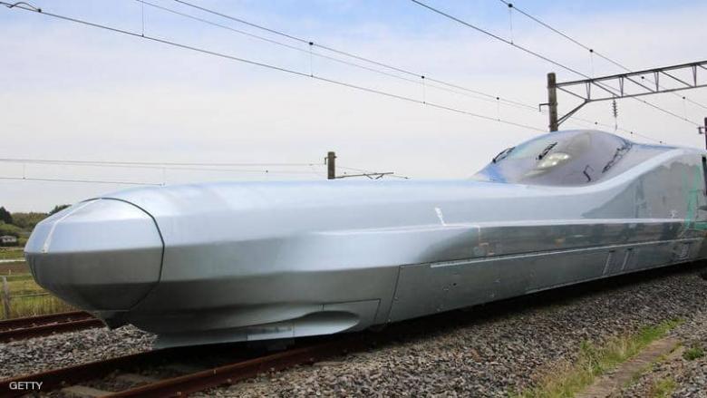 """""""الرصاصة"""".. اليابان تكشف عن أسرع قطار في العالم"""