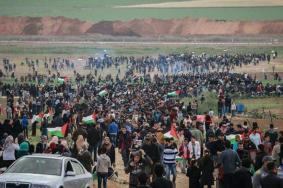"""غزة تتجهز لـ """"جمعة لن تمر المؤامرة على حقوق اللاجئين"""""""