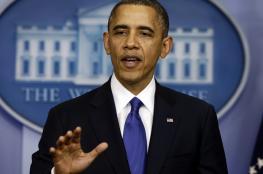 أوباما: الاستيطان يجعل إقامة دولة فلسطينية أمرا شبه مستحيل