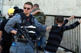 """الاحتلال يعتقل ثلاثة أطفال من الأقصى وسيدة من """"أبو ديس"""""""