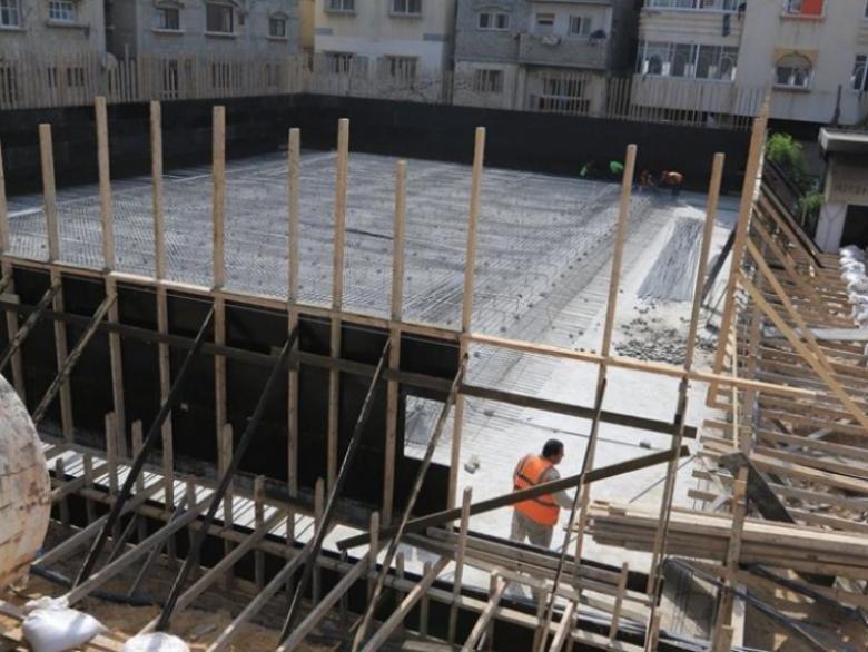 بلدية غزة تشرع بإنشاء خزان للمياه في منطقة اليرموك