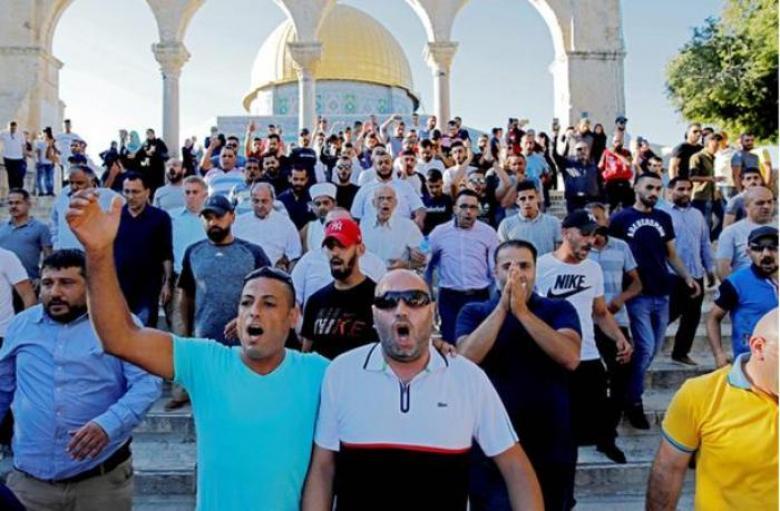 إعلان النفير العام لإفشال مخططات الاحتلال بالأقصى