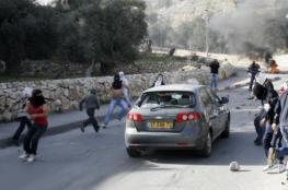 إصابة مستوطن جراء رشق مركبته بالحجارة جنوب بيت لحم