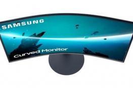 سامسونج تقدم سلسلة شاشات منحنية جديدة