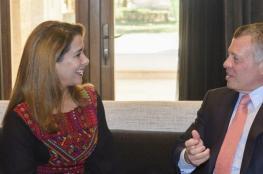 """زيارة خاطفة لملك الأردن إلى لندن وتعرف على مبادرة """"ما بعد الطلاق"""" للأميرة هيا"""