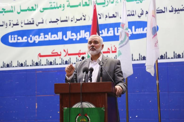 هنية: حماس متجذرة في الأرض ولا يستطيع أحد النيل منها
