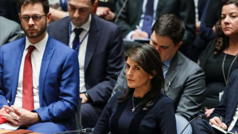 """أمريكا ستنسحب من مجلس حقوق الإنسان بسبب """"إسرائيل"""""""