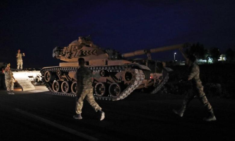 سوريا.. بدء العملية العسكرية التركية