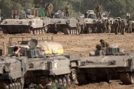 عقب إطلاق الصاروخ .. الاحتلال يرسل تعزيزات عسكرية إلى حدود غزة
