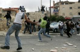 مواجهات مع قوات الاحتلال في عابود غرب رام الله