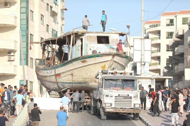 الاحتلال يفرج عن 21 قارب صيد محتجزة لديه