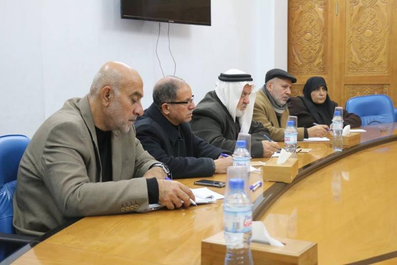 التشريعي يناقش الخطة التشغيلية لوزارة الداخلية للعام 2019م