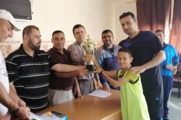 تعليم شمال غزة تختتم بطولة تنس الطاولة للبنين