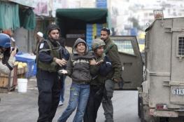 الاحتلال يعتقل طفلين عقب إطلاق النار عليهما بنابلس