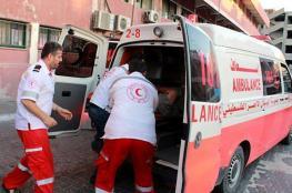 إصابة مواطنين في حادث سير وسط القطاع