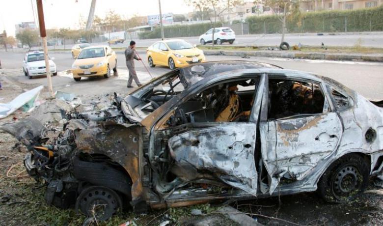 عشرات الضحايا بتفجير سيارة مفخخة ببغداد