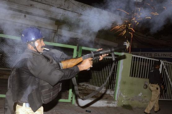 59 قتيلا بهجوم على أكاديمية شرطة في باكستان