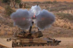 مدفعية الاحتلال تقصف موقعا أمنيا شمال شرق رفح