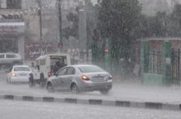 آخر تحديثات المنخفض الجوي والهطول المطري على فلسطين