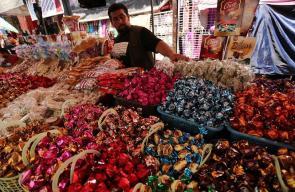 الأجواء في أسواق غزة في ثاني أيام العيد