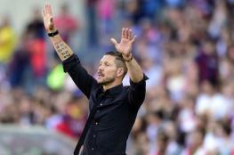 سيميوني يرد على إمكانية تدريب ريال مدريد
