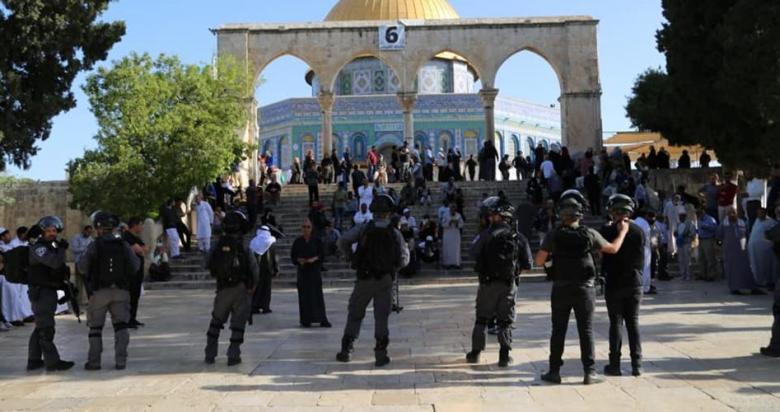 حماس: تصاعد اقتحامات الأقصى يندرج ضمن خطة التهويد