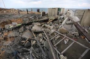 قصف موقع للأمن الوطني غرب مدينة رفح