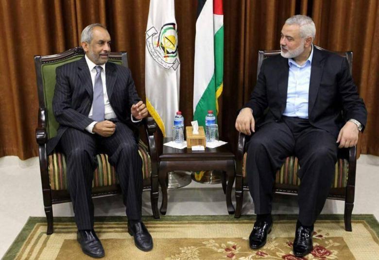 هنية يُطلع سفير جنوب أفريقيا على الوضع الفلسطيني