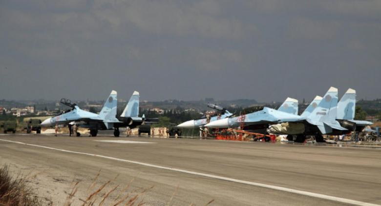 روسيا: الطائرات التي استهدفت قاعدة حميميم أقلعت من إدلب