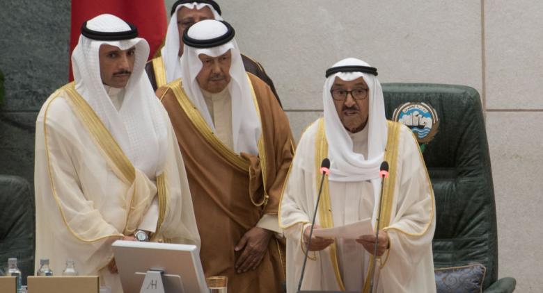 """ماذا قال أمير الكويت لرئيس مجلس الأمة الذي ألقى """"صفقة القرن"""" في القمامة؟"""