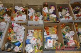 حماس توزع 3200 طرد غذائي وسط القطاع