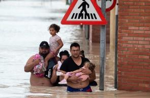 إجلاء الآلاف في إسبانيا إثر الفيضانات