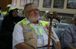 مغادرة الفوج الأول من حجاج قطاع غزة