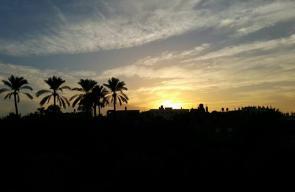 أجواء الطبيعة بمدينة دير البلح