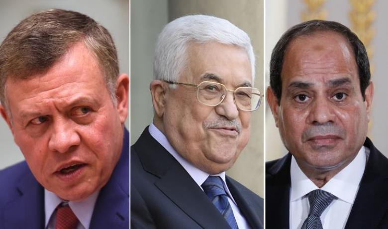 قمة مصرية أردنية فلسطينية بالقاهرة بشأن القدس
